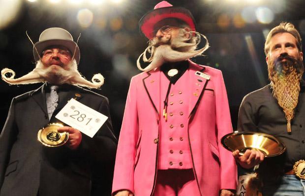 Barbe et Moustache Belge !