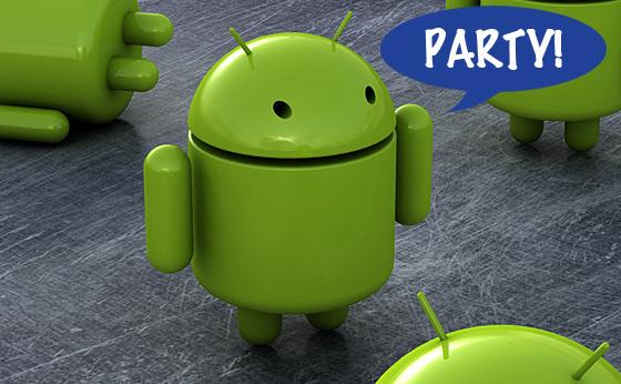 Android Party et la téléphonie du futur